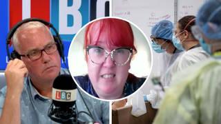 Nurses' pay rise needed to solve 'unsustainable' staffing gaps, nurse tells LBC