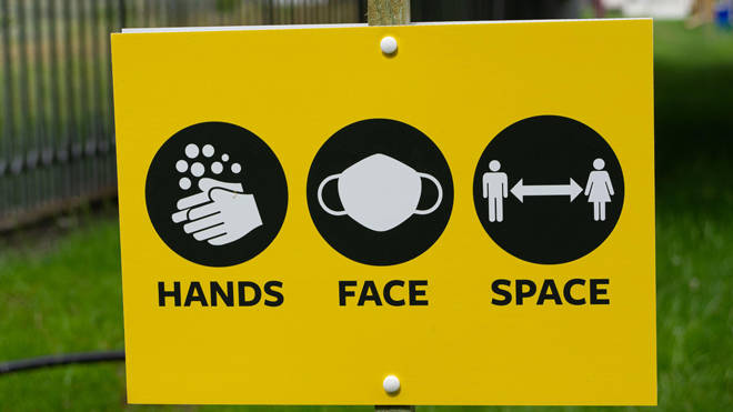 The Hands Face Space slogan is to be dropped