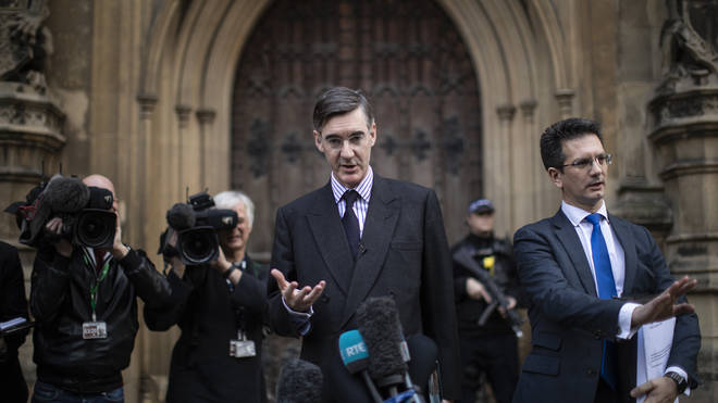 Jacob Rees-Mogg is one of the Tory MPs to have written to the 1922 Committee calling for a vote of no confidence in Theresa May