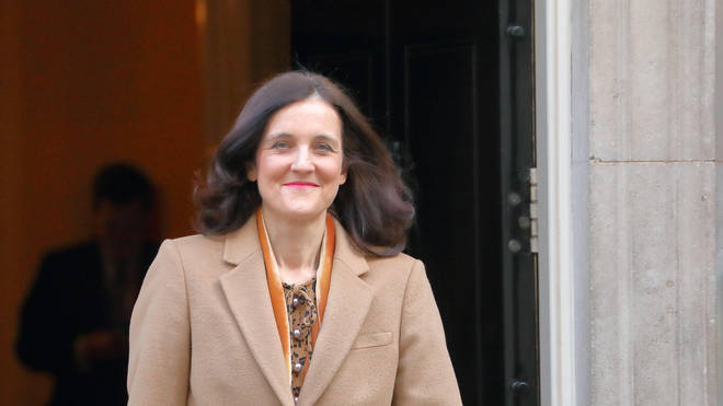 It was recommended Theresa Villiers be suspended from the House for one day