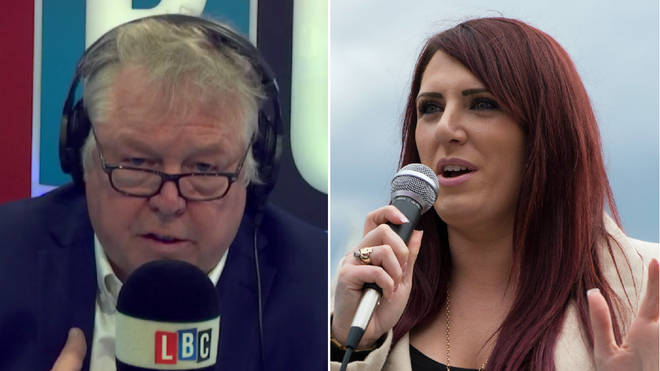Nick Ferrari had a fiery interview with Jayda Fransen