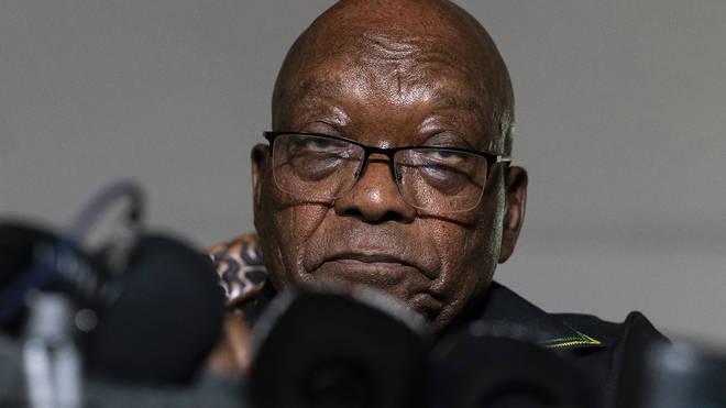 Former South Africa president Jacob Zuma