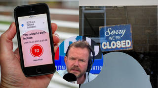 The caller was speaking to LBC's James O'Brien