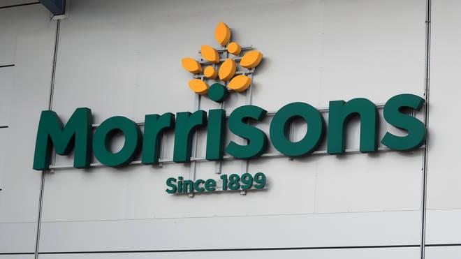 A Morrisons sign