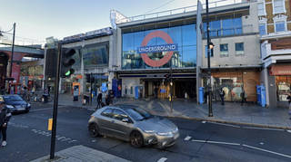 The victim died near Brixton tube station