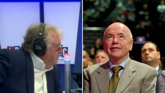Labour's Jack Dromey had strong words for Donald Trump when he spoke to Nick Ferrari