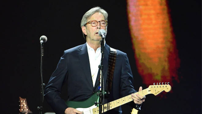 Eric Clapton shared the statement, following the PM's announcement on Monday.