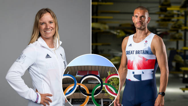 Who are the Team GB flagbearers for Tokyo 2020?