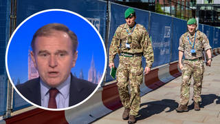 Environment Secretary George Eustice has said the army is on standby in case the country's food supply crisis worsens.