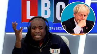 'He's a liar!': David Lammy's brutal attack on Boris Johnson's time as PM