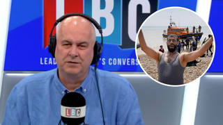 Migrants entering UK carry diseases and must be stopped, caller fumes