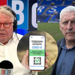 The footballing expert was speaking to LBC