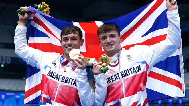 Tom Daley and Matty Lee have won the gold medal in the men's synchronised 10 metres platform