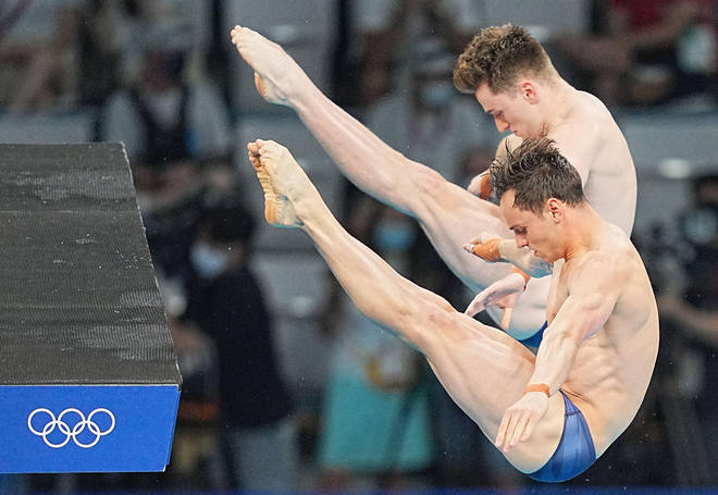 Tom Daley and Matty Lee taking gold in Tokyo