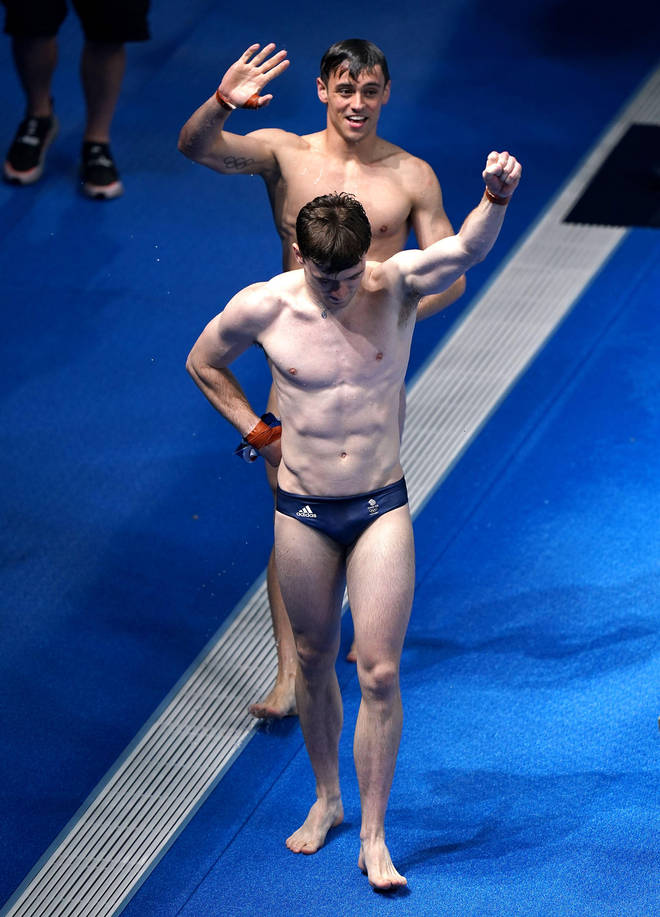 The diving pair were among three gold medal winners on day three in Tokyo