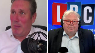Sir Keir made the remarks to Nick Ferrari on Call Keir on LBC this morning