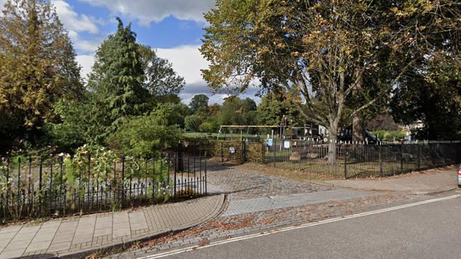The newborn baby was found dead in Manor Park, Aldershot