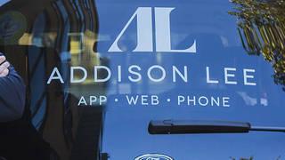 An Addison Lee car