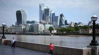 London stocks nudged lower on Monday