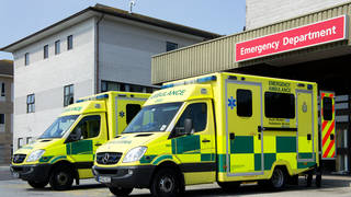 """Health leaders have warned that the NHS is facing pressure of an """"overall"""" similar level to January"""
