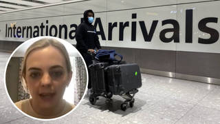 Grace Cunningham believes she may have caught Covid at her quarantine hotel