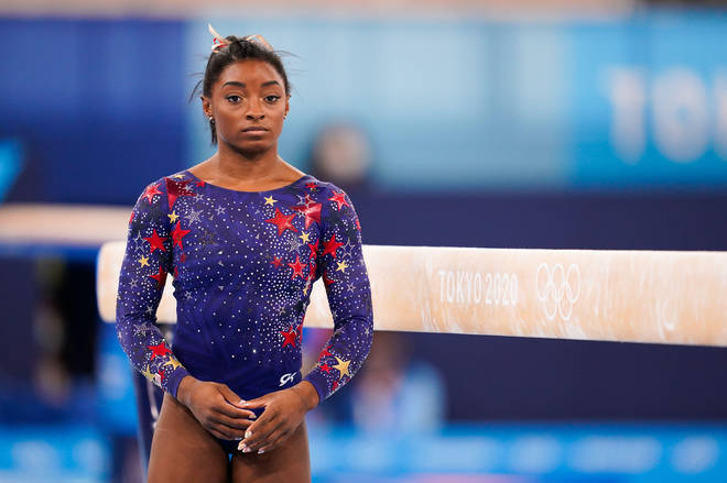 Simone Biles has dropped out of the women's gymnastics team final at Tokyo 2020