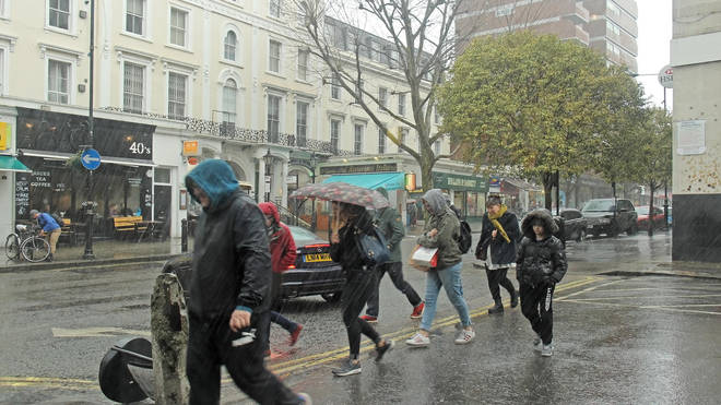 The UK will see more heavy rain over the coming days