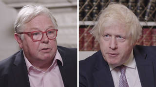 Boris Johnson told LBC he wants to thicken the thin blue line