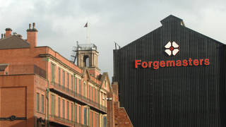 The Sheffield Forgemasters plant