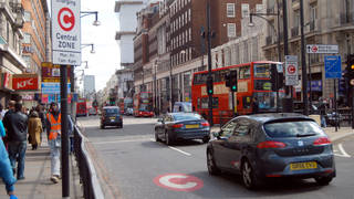 It's been proposed that the congestion charge remains at £15.