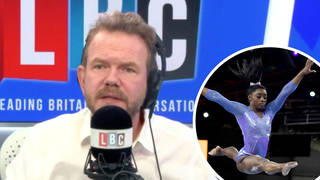 Olympics: James O'Brien's response to people 'attacking' Simone Biles over withdrawal