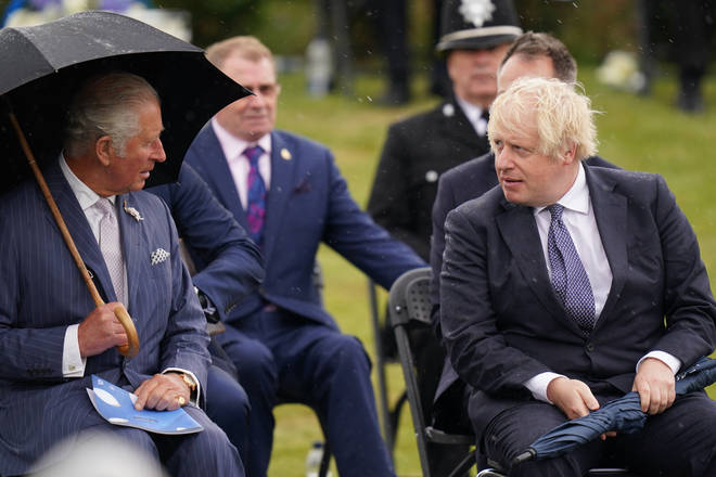 Prince Charles and Boris Johnson both paid tribute to fallen police officers