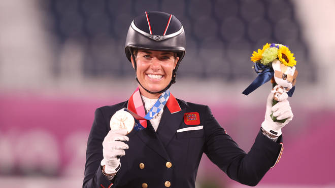 Charlotte Dujardin now has six Olympic medals to her name.