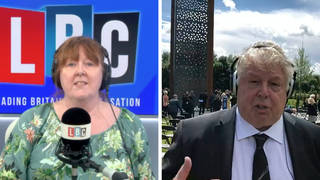 'There were people in tears': Nick Ferrari on unveiling of memorial to fallen police officers