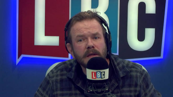 James O'Brien had an excellent response to this caller