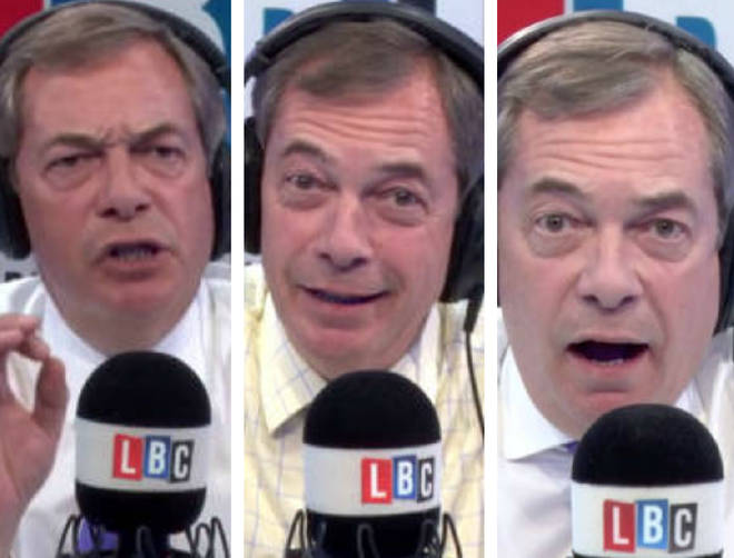 The top 10 moments of The Nigel Farage Show 2018