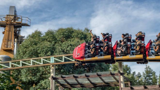 People will be able to get their jabs before hitting the rollercoasters.