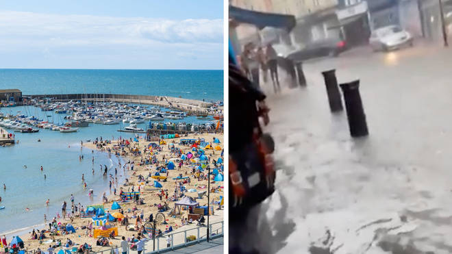 Experts have warned climate change is affecting the UK's weather patterns