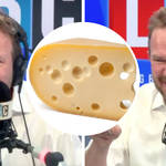 Caller makes Mystery Hour history by waiting eight years to answer cheese question