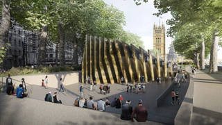 The national Holocaust memorial will be built next to the Palace of Westminster
