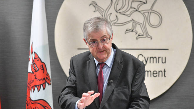 First Minister Mark Drakeford confirmed that fully-vaccinated adults in Wales will not need to isolate if identified as a Covid contact