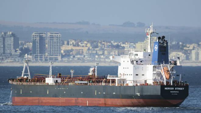 The Liberian-flagged oil tanker Mercer Street