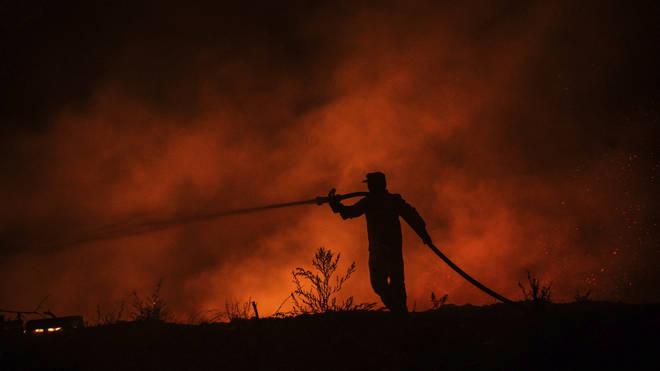 Wildfires in Turkey