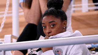 Simone Biles will not compete in the vault or uneven bars finals