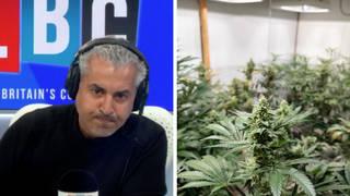 Maajid Nawaz calls for legalisation of cannabis to 'reimagine' drug problem