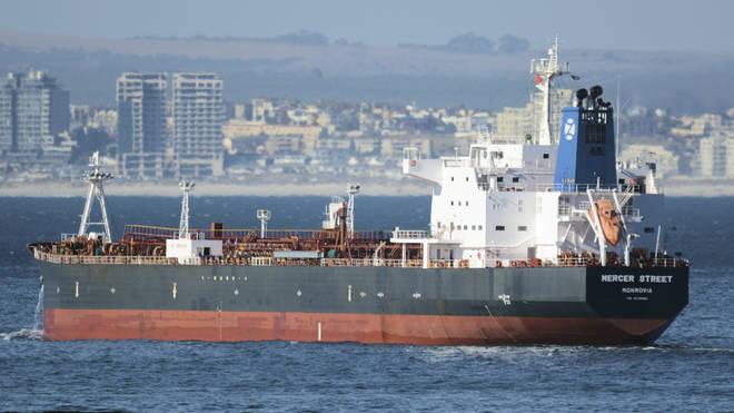 The oil tanker Mercer Street