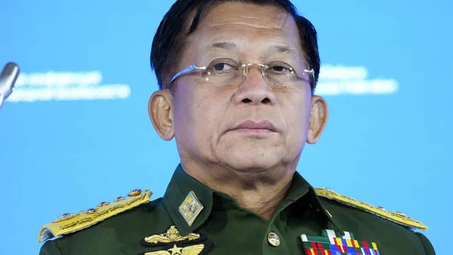Senior General Min Aung Hlaing of Myanmar