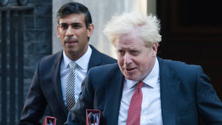 Regular meetings and calls have reportedly been held with Boris Johnson and Rishi Sunak