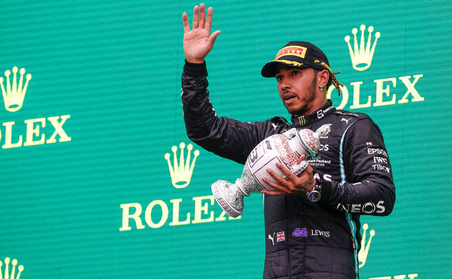 Lewis Hamilton revealed her was suffering from long Covid symptoms