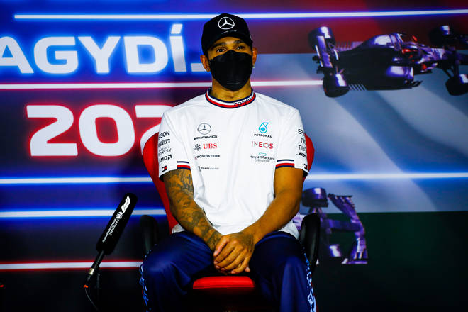 The seven time world champion said he suffering with dizziness and fatigue